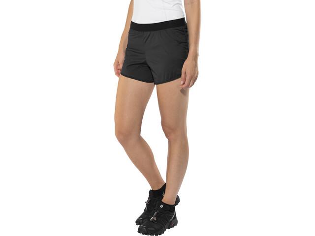 X-Bionic Aero Running Pants Short Women Black/White